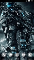 Titan CLauncher Android Mobile Phone Theme