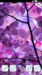 Purple Leaves CLauncher