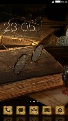 Antique CLauncher Android Mobile Phone Theme