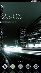 Night CLauncher Android Mobile Phone Theme