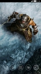 Lone Warrior CLauncher Android Mobile Phone Theme