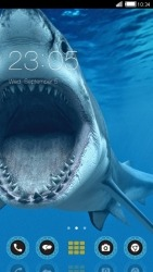 Shark CLauncher Android Mobile Phone Theme