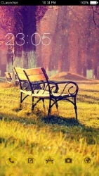 Garden CLauncher Android Mobile Phone Theme