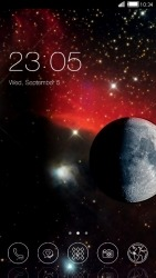 Space CLauncher Android Mobile Phone Theme