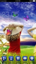 Scenery CLauncher Android Mobile Phone Theme