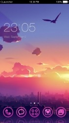 Sky CLauncher Android Mobile Phone Theme