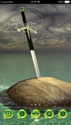 Sword In The Stone CLauncher Android Mobile Phone Theme