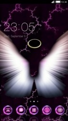 Angel CLauncher Android Mobile Phone Theme