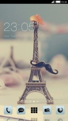 Eiffel Tower CLauncher Android Mobile Phone Theme