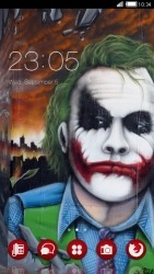 Joker CLauncher Android Mobile Phone Theme