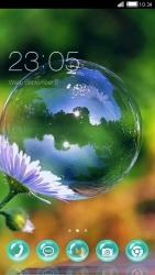 Bubble CLauncher Android Mobile Phone Theme