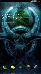 Android BioHazard CLauncher Android Mobile Phone Theme