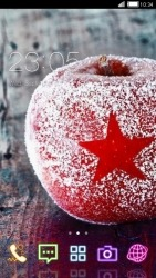 Frozen Apple CLauncher Android Mobile Phone Theme