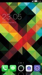 Pattern CLauncher Android Mobile Phone Theme