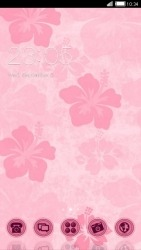 Pink CLauncher Android Mobile Phone Theme