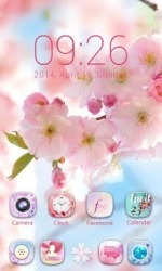 Aroma Go Launcher Android Mobile Phone Theme