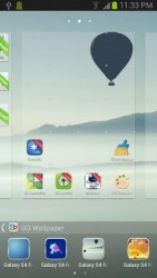 Galaxy S Go Launcher Android Mobile Phone Theme