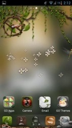Dryad Go Launcher Android Mobile Phone Theme