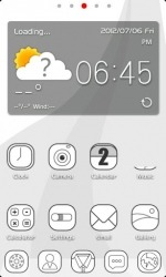 ZLINE Go Launcher Android Mobile Phone Theme