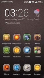 Metal Maniac Hola Launcher Android Mobile Phone Theme