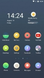 Circular Hola Launcher Android Mobile Phone Theme