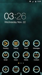 Circuit Hola Launcher Android Mobile Phone Theme