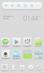 Milky Sky Dodol Launcher Android Mobile Phone Theme