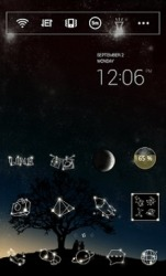 The Stars Voice Dodol Launcher Android Mobile Phone Theme
