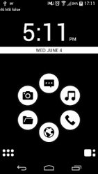 Basic Black Smart Launcher
