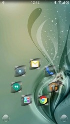 Gloss Smart Launcher Android Mobile Phone Theme