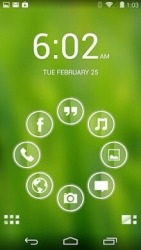 Glass Smart Launcher Android Mobile Phone Theme