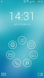 Light Lines Smart Launcher Android Mobile Phone Theme
