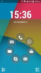 Flat Smart Launcher Android Mobile Phone Theme