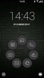 Touch Smart Launcher Android Mobile Phone Theme
