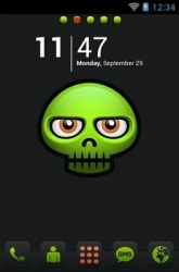 Darkness Go Launcher Android Mobile Phone Theme