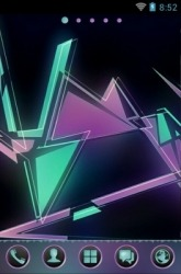 Geometric Abstraction Go Launcher
