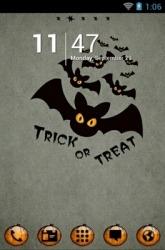 Halloween Bats Go Launcher