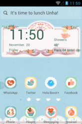 Afternoon Tea Hola Launcher Android Mobile Phone Theme