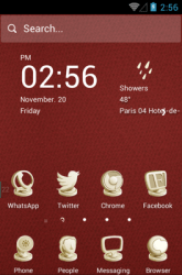 Clay Sculptures Hola Launcher Android Mobile Phone Theme