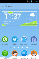 Picnic Hola Launcher Android Mobile Phone Theme