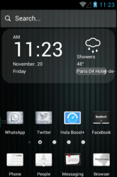 Before Color Hola Launcher Android Mobile Phone Theme