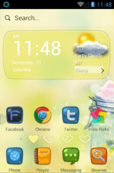 My Heart Belongs To You Hola Launcher Android Mobile Phone Theme