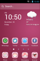 Our Anniversary Hola Launcher Android Mobile Phone Theme