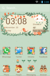 The Little Adventurer Hola Launcher Android Mobile Phone Theme