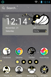 Circle Planet Hola Launcher
