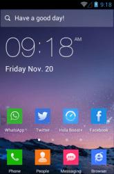 Flat Icon Style Hola Launcher