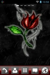 Tattoo Rose Go Launcher