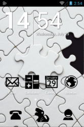 Stamped Black Icon Pack