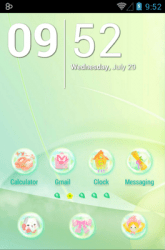 Daisy In Rainbow Icon Pack