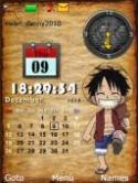 Anime Clock S40 Mobile Phone Theme
